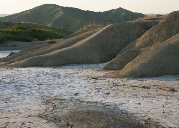 Mud volcanoes Romania tour
